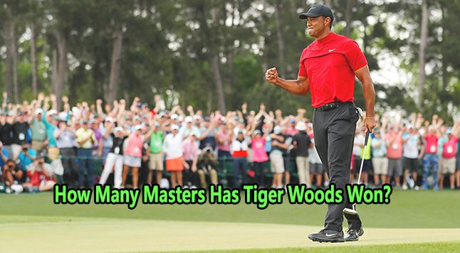 How Many Masters Has Tiger Woods Won