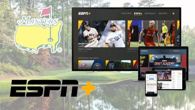 ESPN Plus Masters coverage 2022