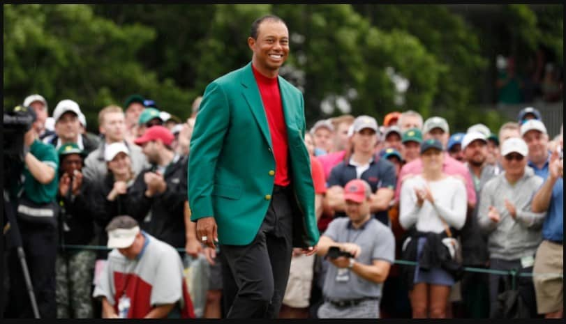Tiger Woods live online from Masters 2020